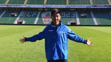 Pemain muda Indonesia di Spanyol, Nicholas Yohanes Pambudi.