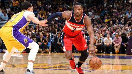 LA Lakers vs Washington Wizards. - INDOSPORT