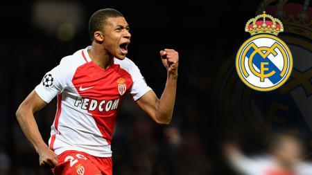 Kylian Mbappe, striker AS Monaco. - INDOSPORT