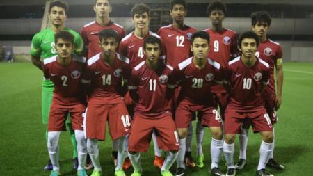 Bakat muda Indonesia di Qatar, Andri Syahputra. - INDOSPORT