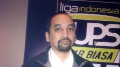 Indosport - CEO PT Liga Indonesia Baru (PT LIB), Risha Adi Widjaya.