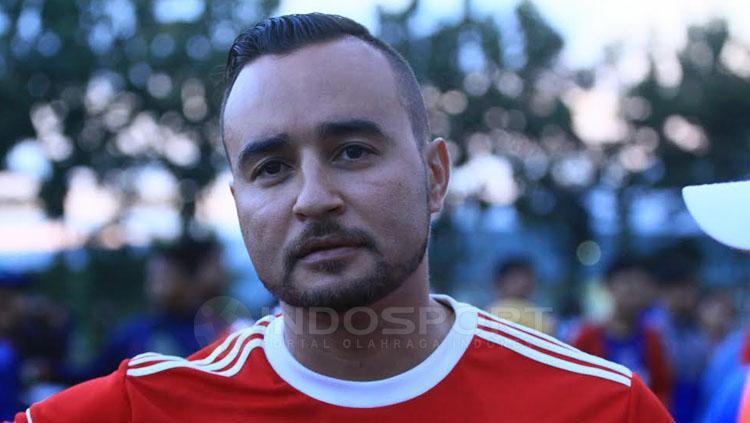 Jaino Matos pelatih asal Brasil. Copyright: Ian Setiawan/INDOSPORT