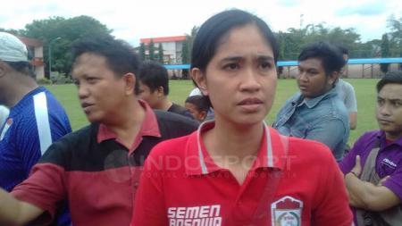 Media Officer (MO) PSM Makassar, Andi WidyaSsyadzwina. - INDOSPORT