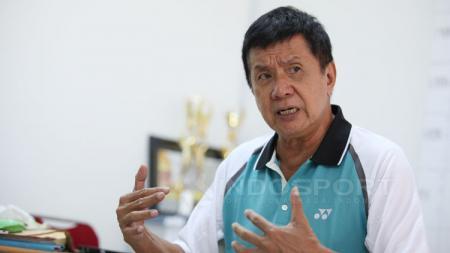 Rudy Hartono, legenda bulutangkis Indonesia. - INDOSPORT