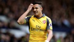 Indosport - Bintang Arsenal, Alexis Sanchez.