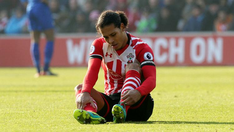 Bintang Southampton, Virgil van Dijk. Copyright: Plumb Images/Leicester City FC via Getty Images