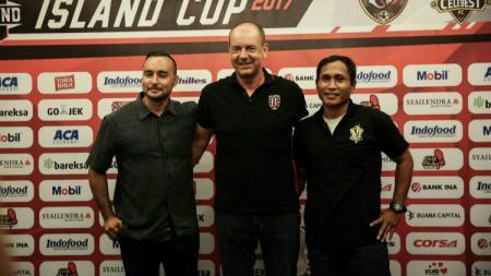 Tiga klub yang ikut Trofeo Bali United. - INDOSPORT