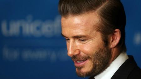 Mantan pemain Manchester United, David Beckham. - INDOSPORT