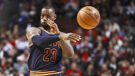 Pemain bintang Cleveland Cavaliers, LeBron James. - INDOSPORT