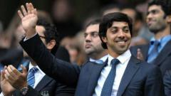 Indosport - Sheikh Mansour bin Zayed al-Nahyan, pemilik Manchester City asal Abu Dhabi Group.