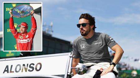 Pembalap McLaren, Fernando Alonso berbicara tentang Ferrari. - INDOSPORT