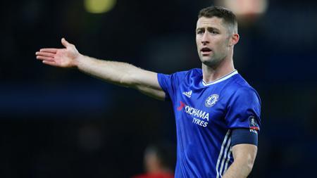 Mantan kapten Chelsea, Gary Cahill, mengaku akan sangat senang seandainya bisa bermain di bawah arahan Frank Lampard. - INDOSPORT
