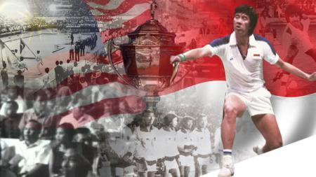 Rudy Hartono dan Piala Thomas 1967. - INDOSPORT