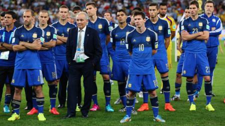 Sabella membawa Argentina lolos ke Piala Dunia 2014. - INDOSPORT