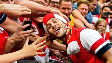 mantan pemain Arsenal, Jack Wilshere. - INDOSPORT