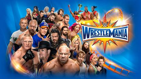 WWE WrestleMania. - INDOSPORT