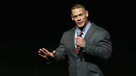 Mantan bintang WWE, John Cena. - INDOSPORT