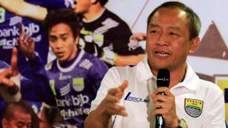 Direktur Utama PT Persib Bandung Bermartabat (PBB), Glenn Sugita. - INDOSPORT