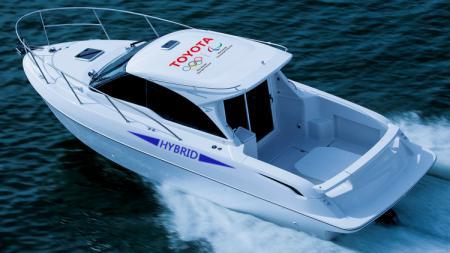 Perahu hibrida yang akan digunakan di Olimpiade Tokyo 2020. - INDOSPORT