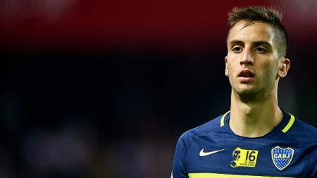 Pemain Boca Juniors, Rodrigo Bentancur baru saja melakukan tes medis di Juventus. - INDOSPORT