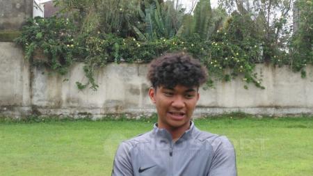 Nicholas Yohanes Pambudi, salah satu bakat muda Indonesia yang dipanggil untuk mengikuti seleksi Timnas U-19.