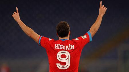 Higuain menjadi pemain paling dibenci fans Napoli saat ini. - INDOSPORT