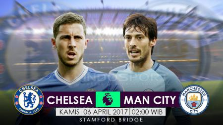 Prediksi Chelsea vs Manchester City. - INDOSPORT