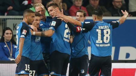 Hoffeinheim mengalahkan Bayern Munchen, Rabu (05/04/17). - INDOSPORT