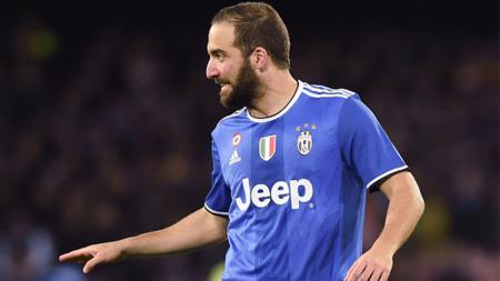 Penyerang Argentina yang membela Napoli, Gonzalo Higuain. - INDOSPORT