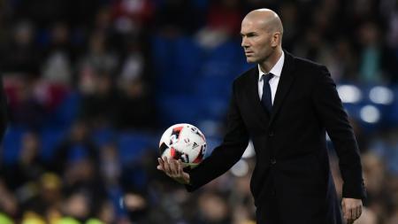Pelatih Real Madrid, Zinedine Zidane. - INDOSPORT