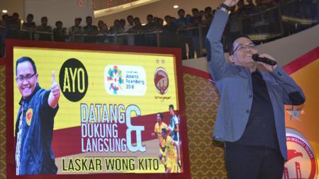 Presiden Sriwijaya FC, Dodi Reza Alex. - INDOSPORT