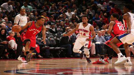 Toronto Raptors vs Detroit Pistons. - INDOSPORT