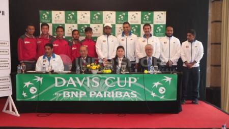 Hasil Drawing Piala Davis Indonesia Melawan Kuwait - INDOSPORT