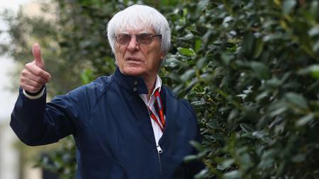 Mantan bos Formula 1, Bernie Ecclestone. - INDOSPORT