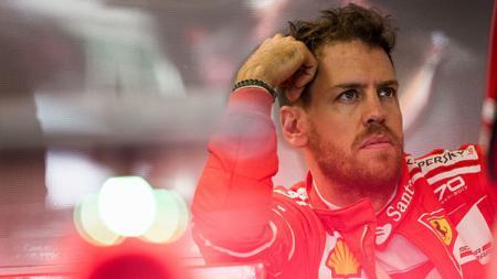 Sebastian Vettel sebelum jalani tes di Formula 1 Australia. - INDOSPORT