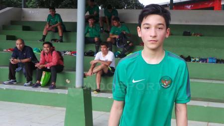 Salah satu pemain seleksi Timnas U-19 dari luar negeri Jack Brown. - INDOSPORT