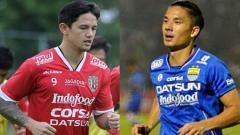 Indosport - Irfan Bachdim dan Kim Jeffrey Kurniawan.