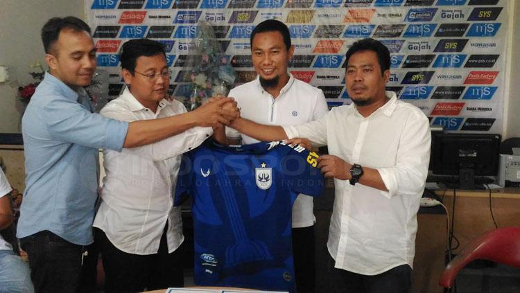 Muhammad Ridwan resmi kembali PSIS Semarang. Copyright: Ghozi El Fitra/INDOSPORT
