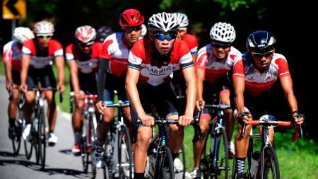 Pembalap sepeda dari Indonesia. - INDOSPORT