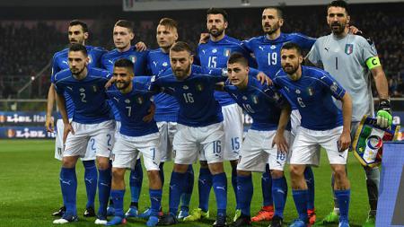 Tim Nasional Italia. - INDOSPORT