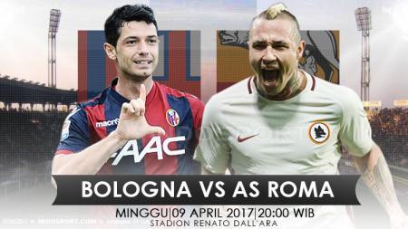 Prediksi Bologna vs AS Roma. - INDOSPORT