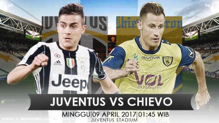 Prediksi Juventus vs Chievo. - INDOSPORT