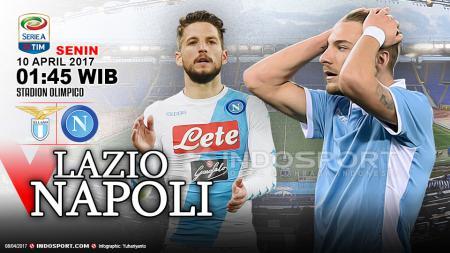 Prediksi Lazio vs Napoli. - INDOSPORT