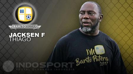 Pelatih Barito Putera, Jacksen F Thiago. - INDOSPORT