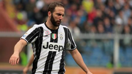 Penyerang Juventus, Gonzalo Higuain. - INDOSPORT