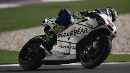 Karel Abraham saat di Grand Prix Qatar, Senin (27/03/17). - INDOSPORT