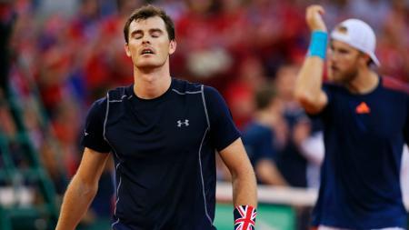 Jamie Murray dan Dom Inglot gagal membawa Inggris ke semifinal Piala Davis 2017. - INDOSPORT