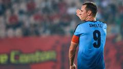Indosport - Shane Smeltz saat berseragam Sydney FC.