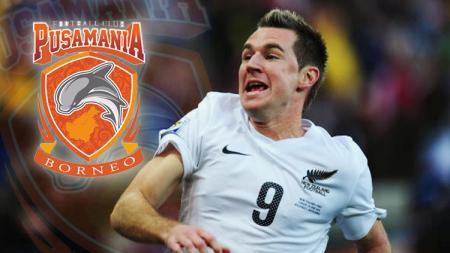 Pemain Timnas Selandia Baru, Shane Smeltz. - INDOSPORT
