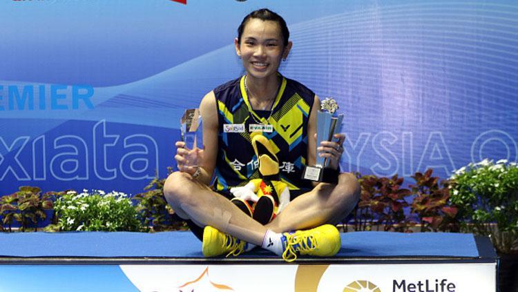 Tai Tzu Ying juara tungal putri di Malaysia Open Super Series Premier 2017. Copyright: Allsport Co./Getty Images